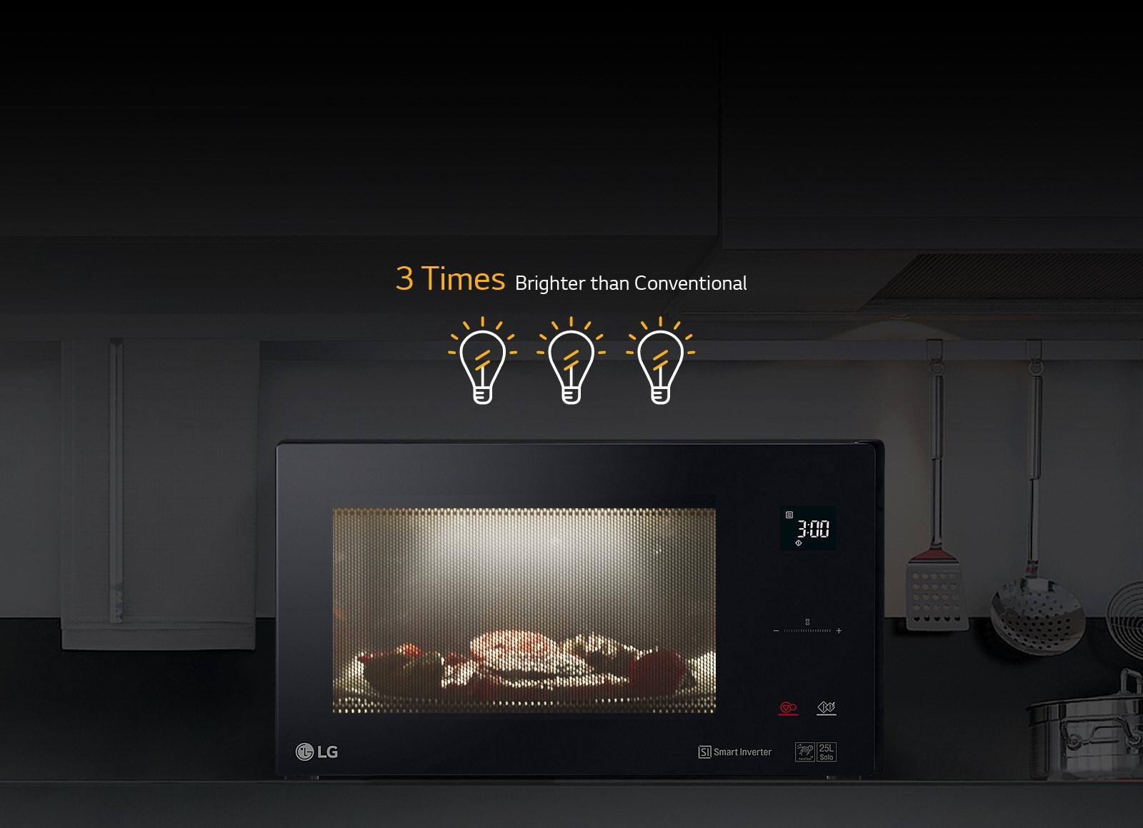 Forno a microonde combinato neochef mj3965bps lg italia - Forno microonde e tradizionale ...