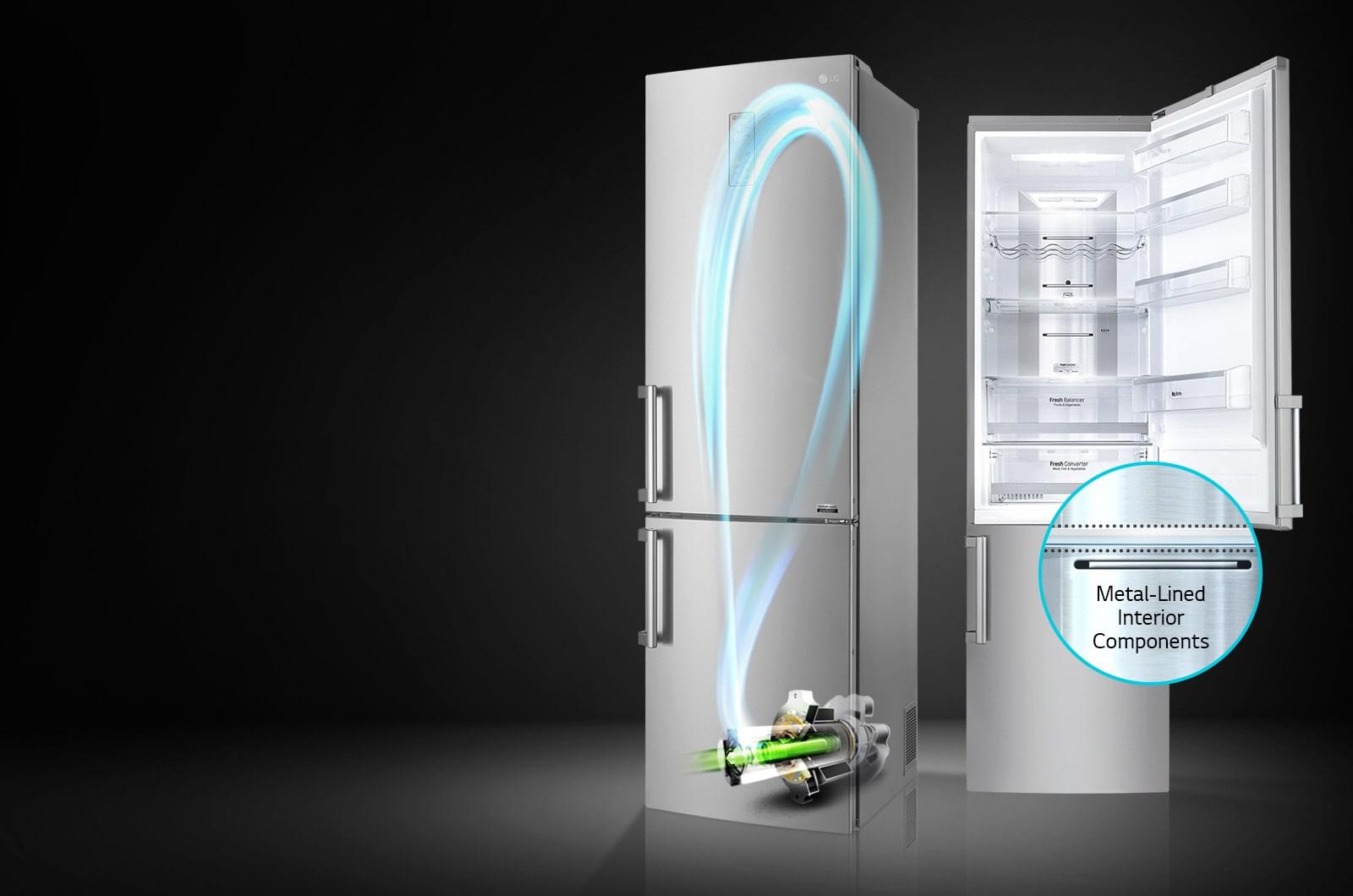 Frigorifero Centum System GBB60NSYQE A+++-20% | LG Italia