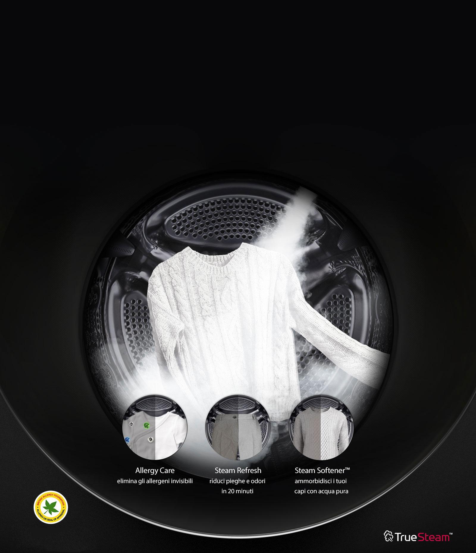TWINWash™ Steam Care