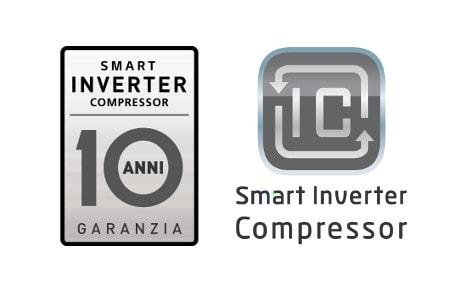 10 year warranty on the compressor LG