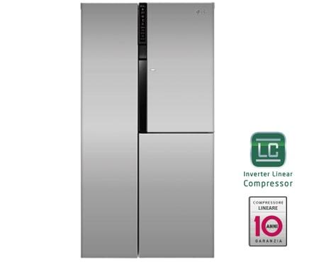 Frigorifero Side-by-Side classe A++ GS9366PZQZM | LG Italia