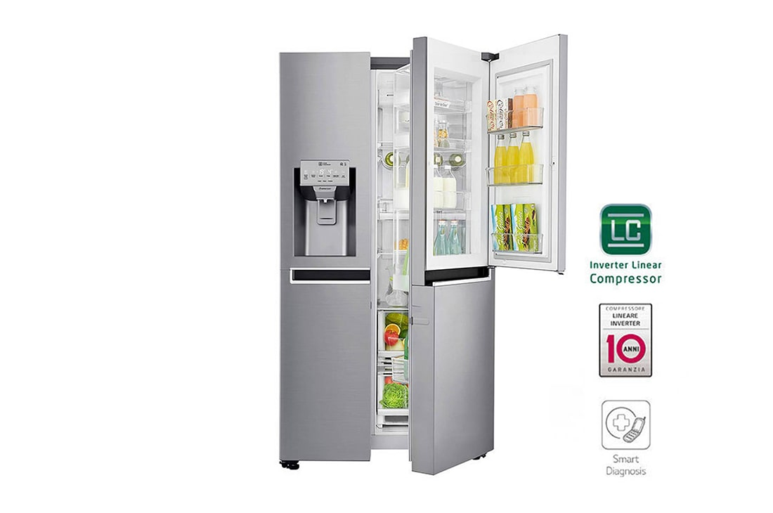 Frigorifero Lg Side By Side. Lg Control Panel Dispenser With ...