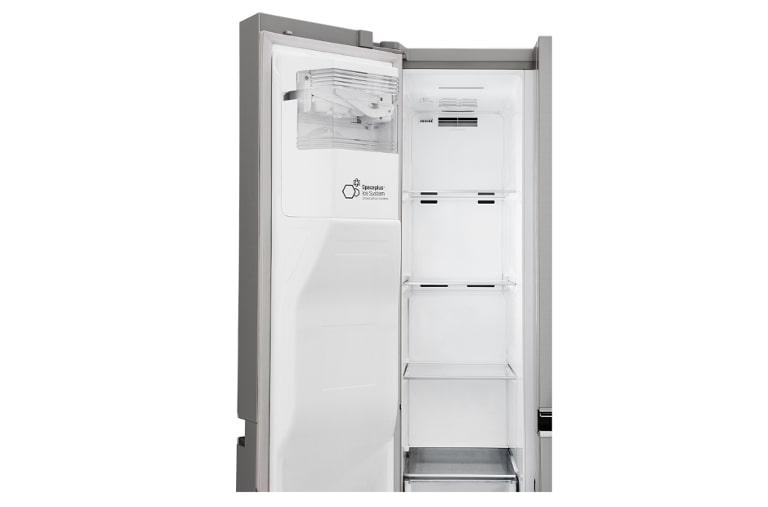 frigorifero side by side classe a gsl761pzuz lg italia. Black Bedroom Furniture Sets. Home Design Ideas