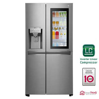 Frigoriferi Americani Side by Side con Dispenser A++ | LG Italia