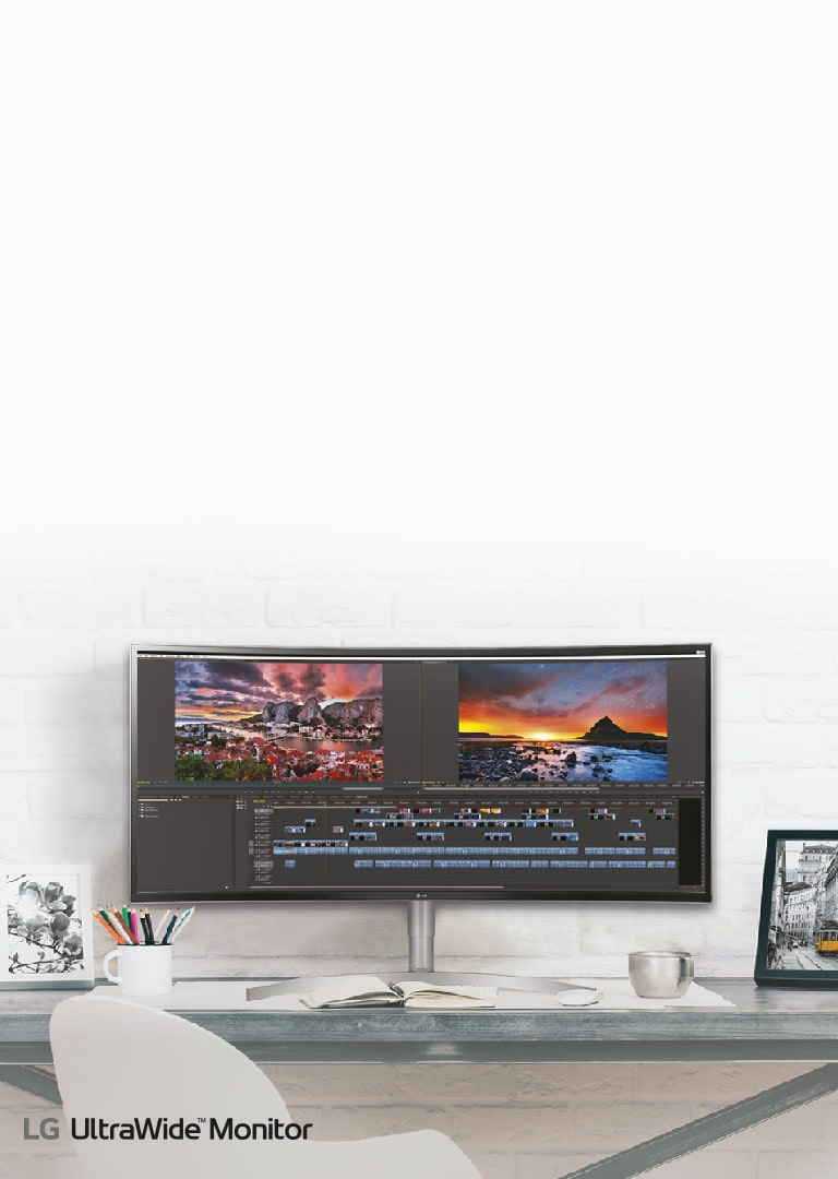 Banner monitor 21:9 ultrawide 2018