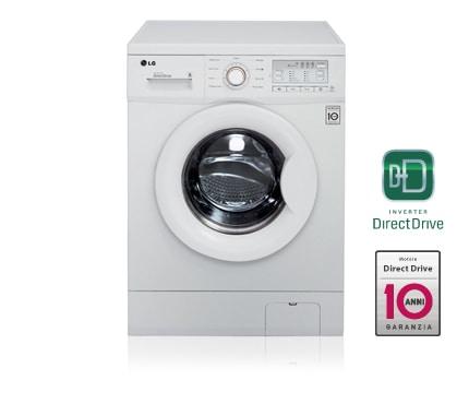 Lavatrice direct drive lg lavatrice classe a lg for Lavatrice lg slim