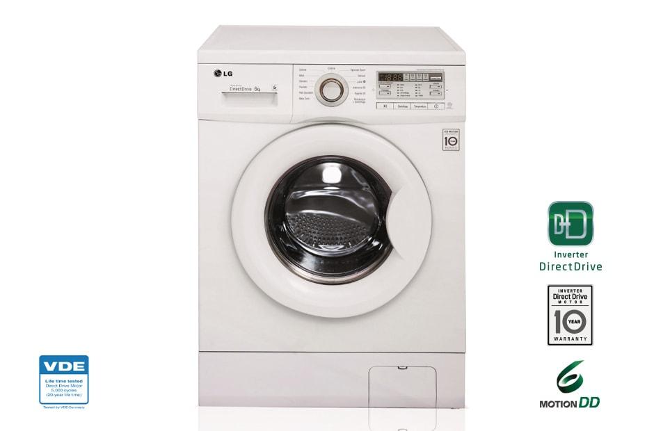 Lavatrice slim 6 kg classe A+++ FH0G7NDN0 | LG Italia