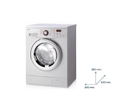 Lg lavatrici slim infissi del bagno in bagno for Lavatrice lg turbowash