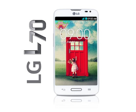 LG Telefoni Cellulari L70 (D320N) smartphone Android™ 4.4, L Series III, display da 4.5