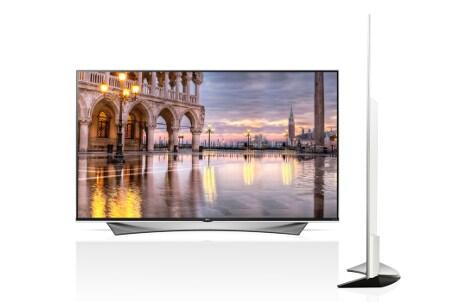 Super ultra hd tv 4k lg 65uf950v lg italia for Distanza tv 4k
