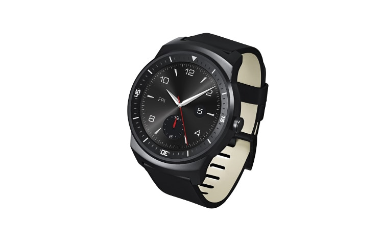 "Wearable Technology LG G Watch R Smartwatch Android Wear Display P-OLED 1.3"" Cinturino intercambiabile thumbnail 2"