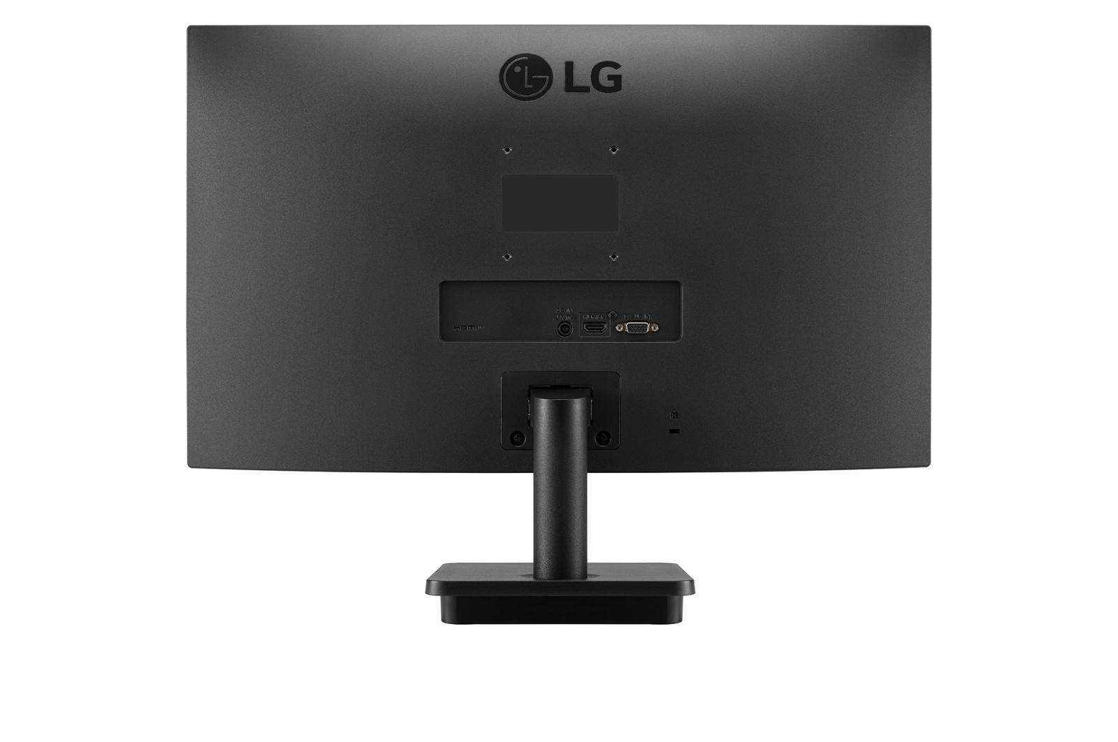 LG 没入感を高める3辺フレームレスデザイン23.8インチフルHDモニター, rear view, 24MP400-B