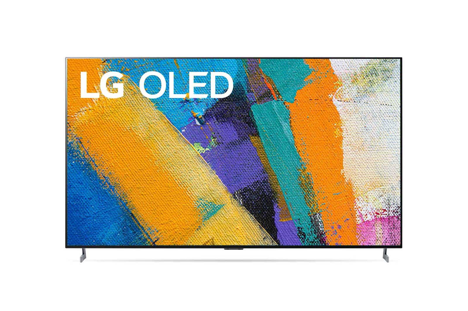 LG 隙間なくピッタリ壁掛けできる空間を演出するギャラリーデザイン。, OLED65GXPJA