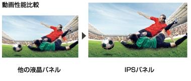LG独自開発のIPS 4Kパネルを搭載・広視野角でどの角度からも鮮明な4K映像を