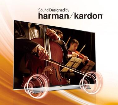 世界中で評価の高いharman/kardon®との共同開発により、高音質サウンドを実現
