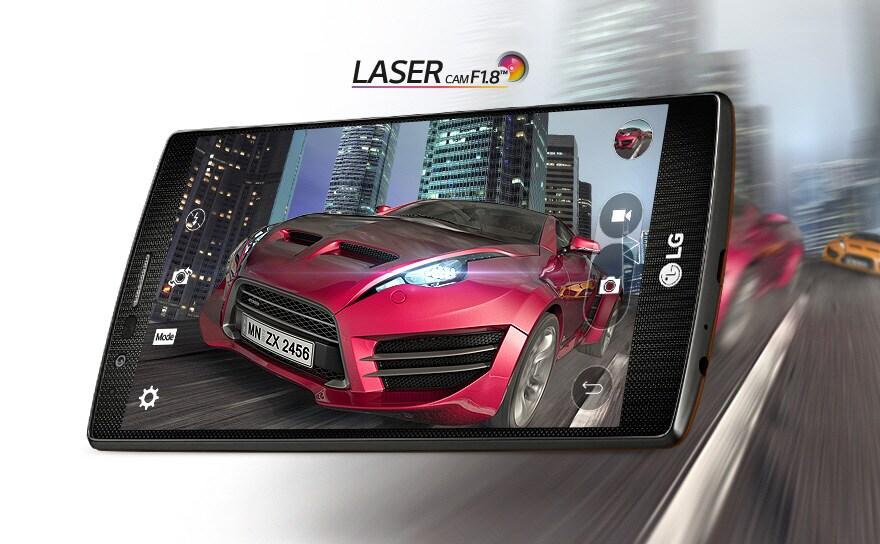 Камера с Лазерным автофокусом и OIS 2.0