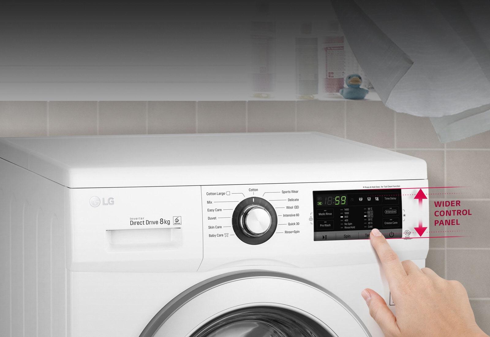 Sleek design & convenient Touch UI1