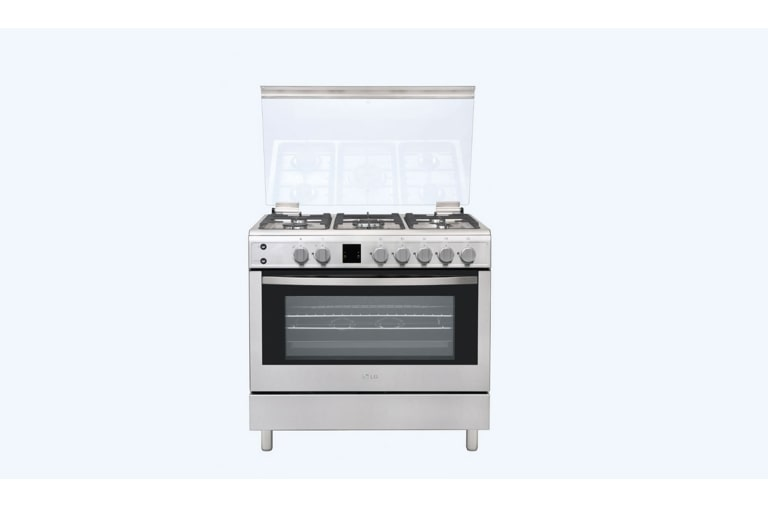 Gas Cookers Make the Perfect Meal with the 90cm LG Gas Cooker (LF98V05S) thumbnail 1