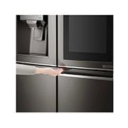LG InstaView Door-in-Door™, Four Door Refrigerator, 889L Gross Capacity with HygieneFRESH+™, Black Stainless Color, GRX-334DPB, thumbnail 8