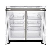 LG InstaView Door-in-Door™, Four Door Refrigerator, 889L Gross Capacity with HygieneFRESH+™, Black Stainless Color, GRX-334DPB, thumbnail 12
