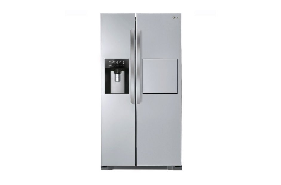 Refrigerators LG 21 ft Side By Side Stainless Steel Refrigerator (GRP-217AXW) 1