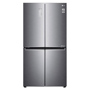 4 Door Refrigerator 725L Gross Capacity Inverter Linear Compressor, Smart Storage System, Hygiene Fresh+™, Steel Color1