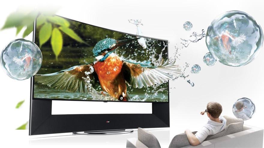 Ultra Hd Tv 105 Inch Curved 4k Gigantic Screen 105uc9t Lg Levant