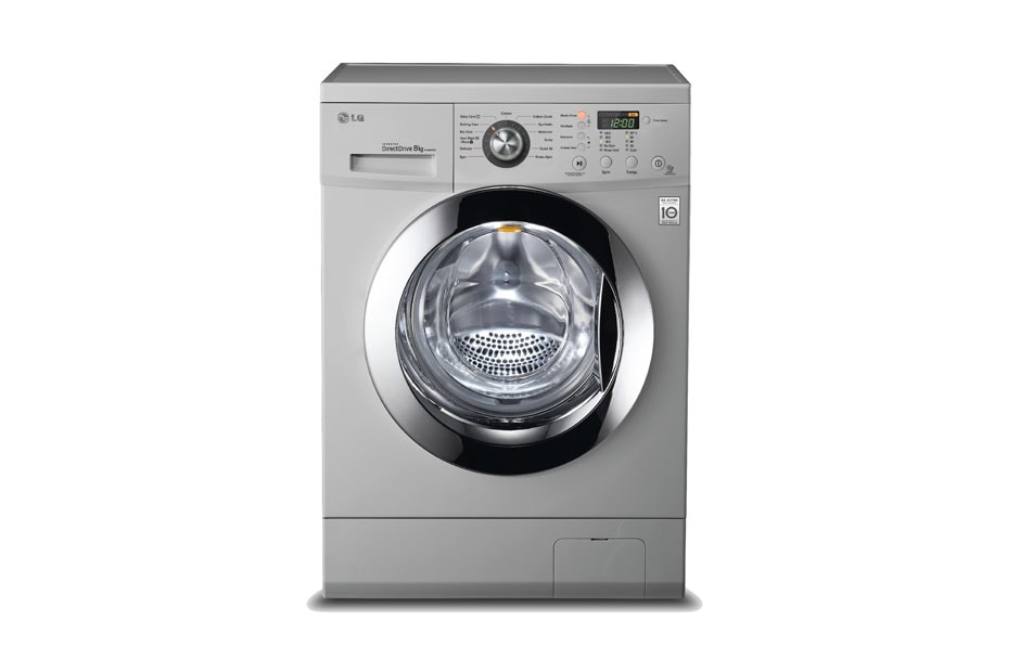 Washing Machines LG Washing Machines - Luxury Silver 1