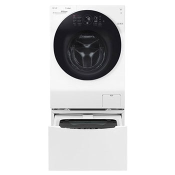 Front Load Washer & Dryer 12/8kg, Direct Drive Motor, 6 Motion, White Color 1