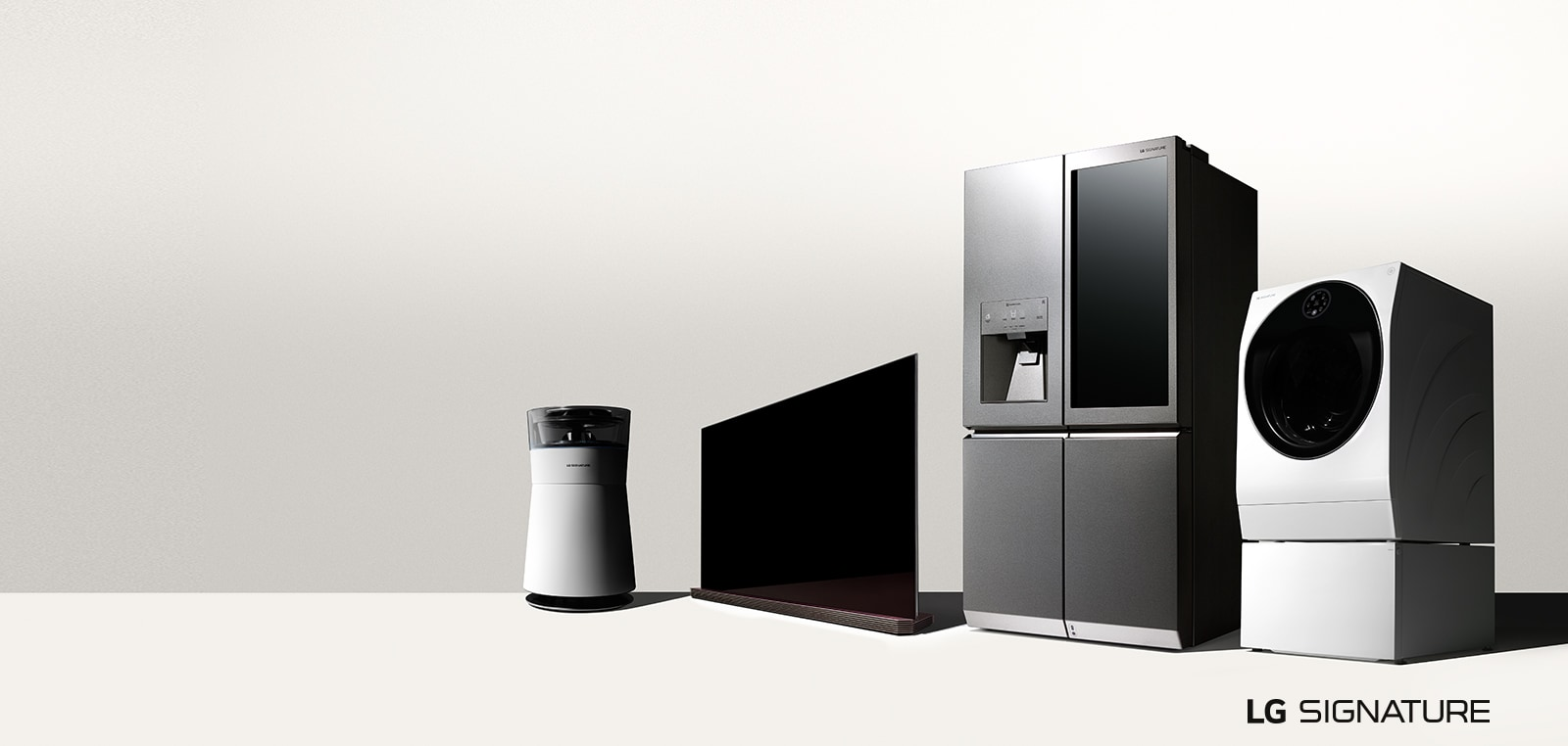 Lg Signature Products  Great Designs Must Be Experienced