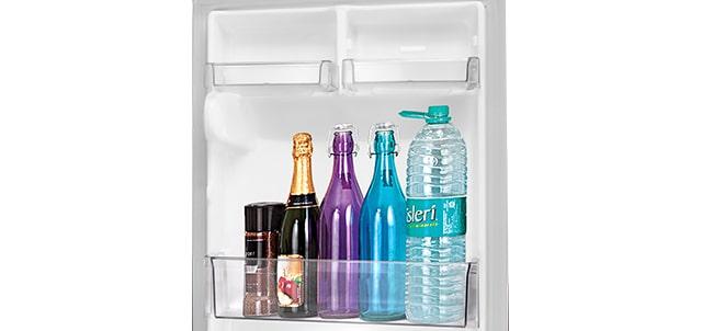 2 L Bottle Storage<br>1