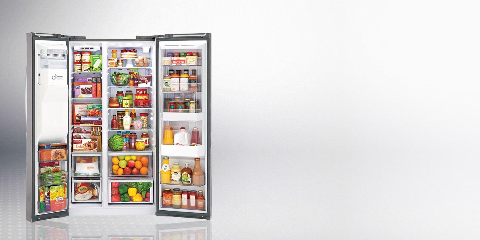 Lg Refrigerators Side By Side Fridge Freezers Lg Sri Lanka