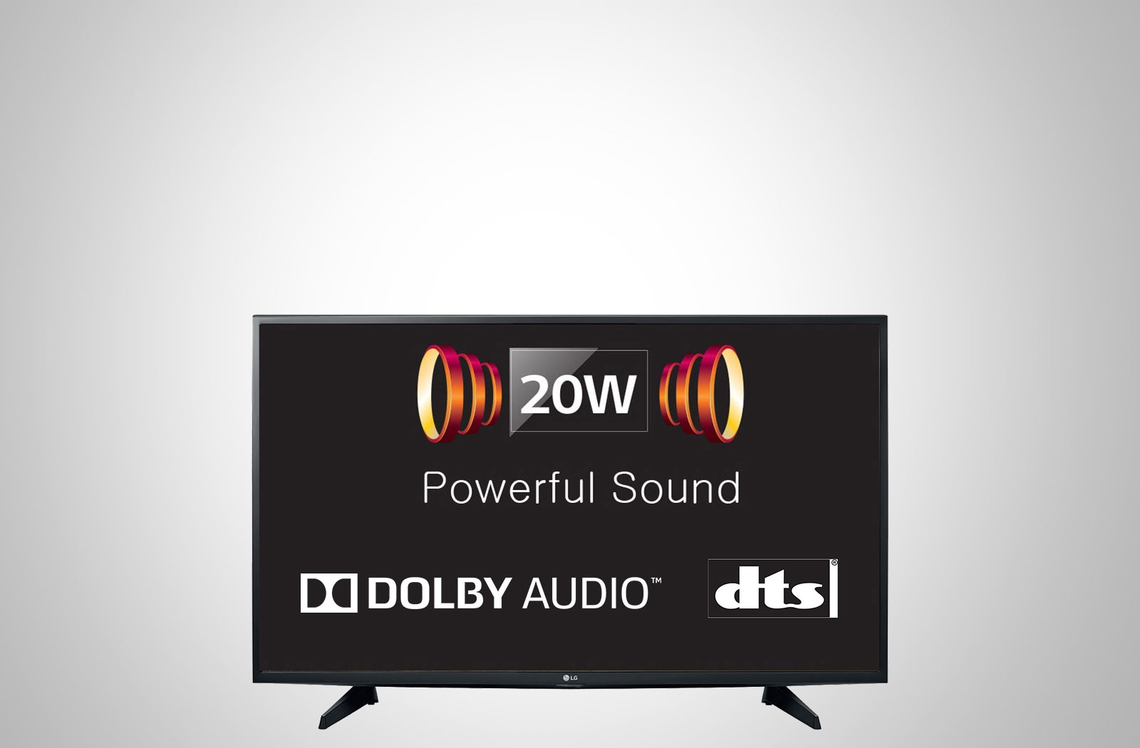 20W Powerful Sound