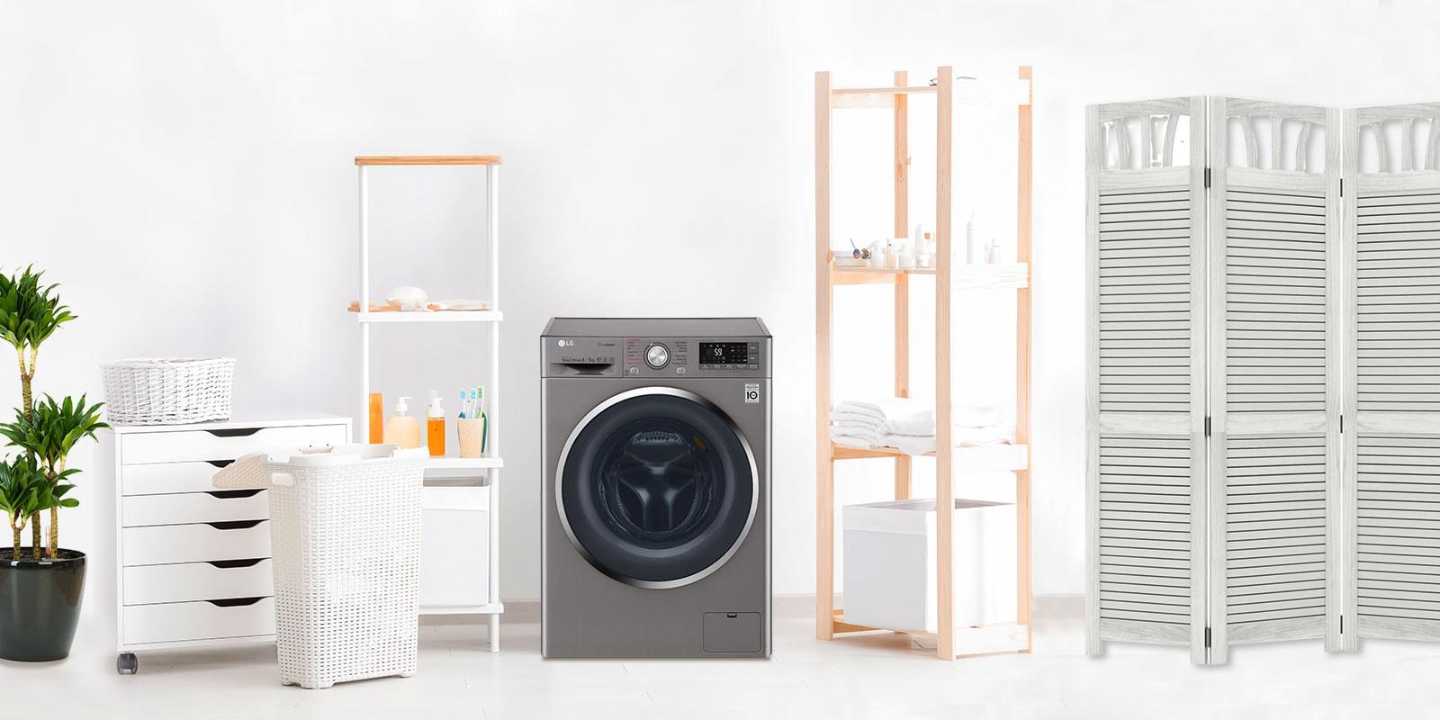 Washer Dryer Combo: Space-Saving Efficiency | LG Sri Lanka