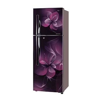 255L Purple Dazzle Top Freezer Refrigerator1