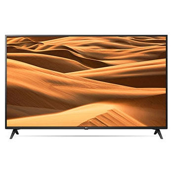 "65"" UHD 4K TV​​, front view with infill image, 65UM7300PTA1"