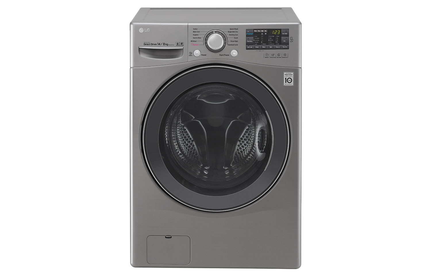 LG Washing Machines F2514DTGE thumbnail 1