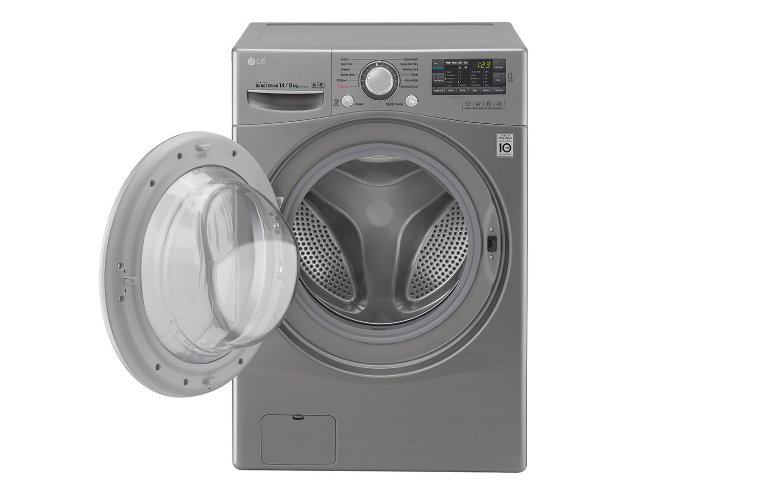 LG Washing Machines F2514DTGE thumbnail 2