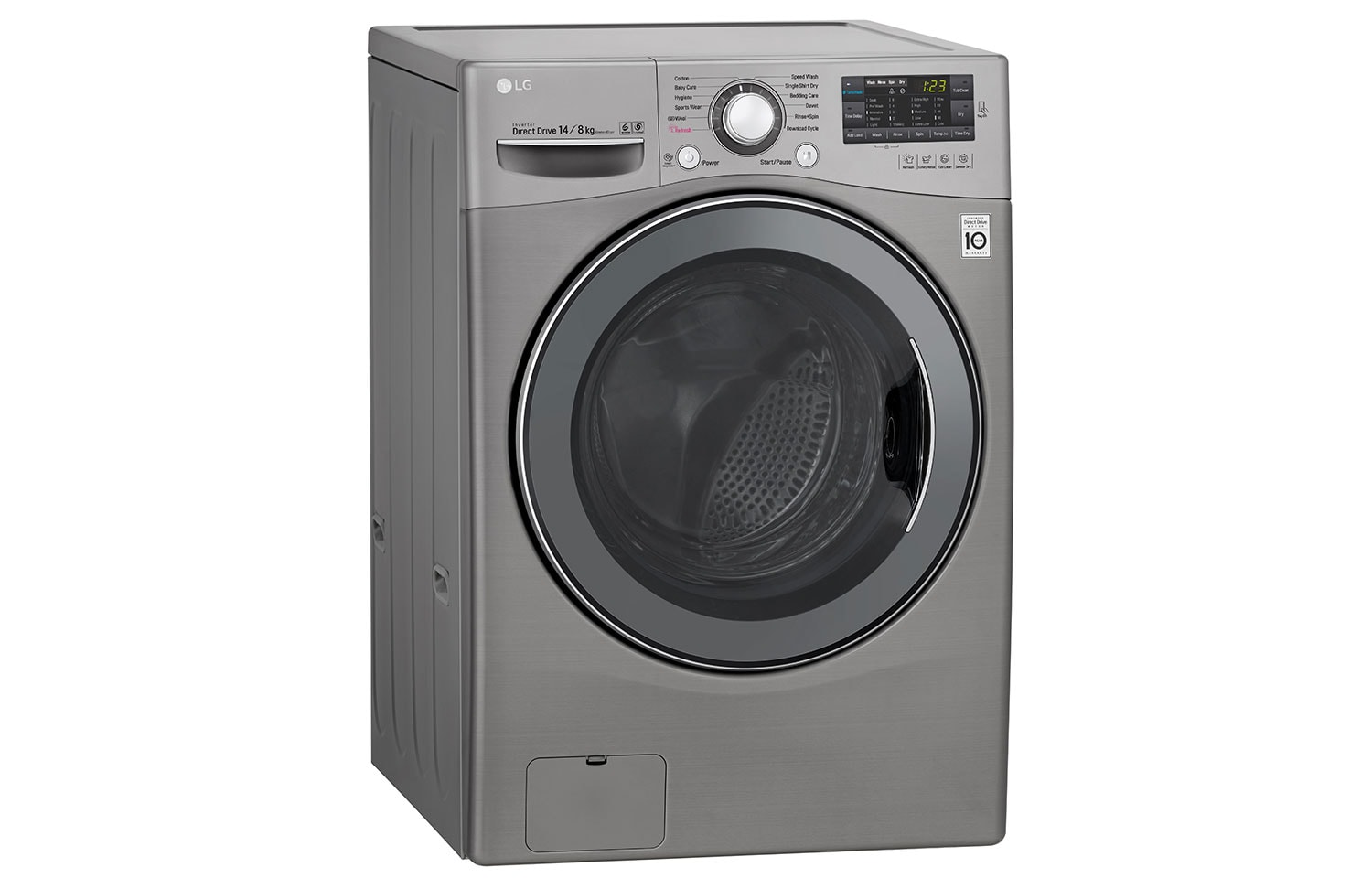 LG Washing Machines F2514DTGE thumbnail 3
