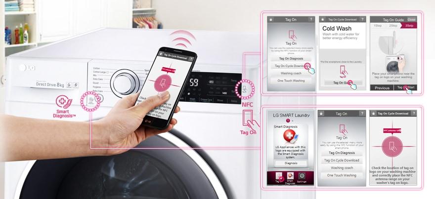 Pažangus standartas su NFC