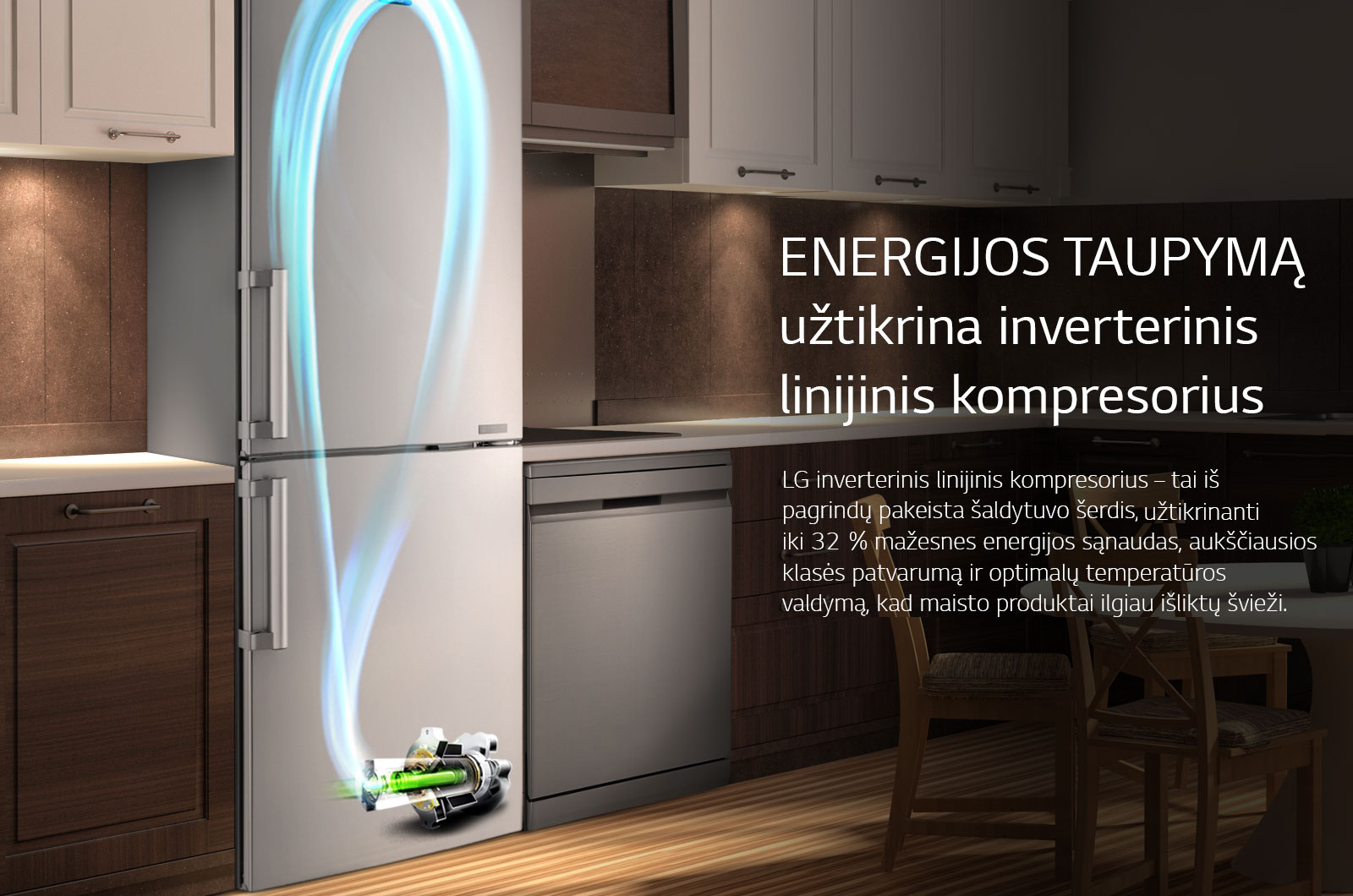 Energy Saving with Inverter Linear Compressor