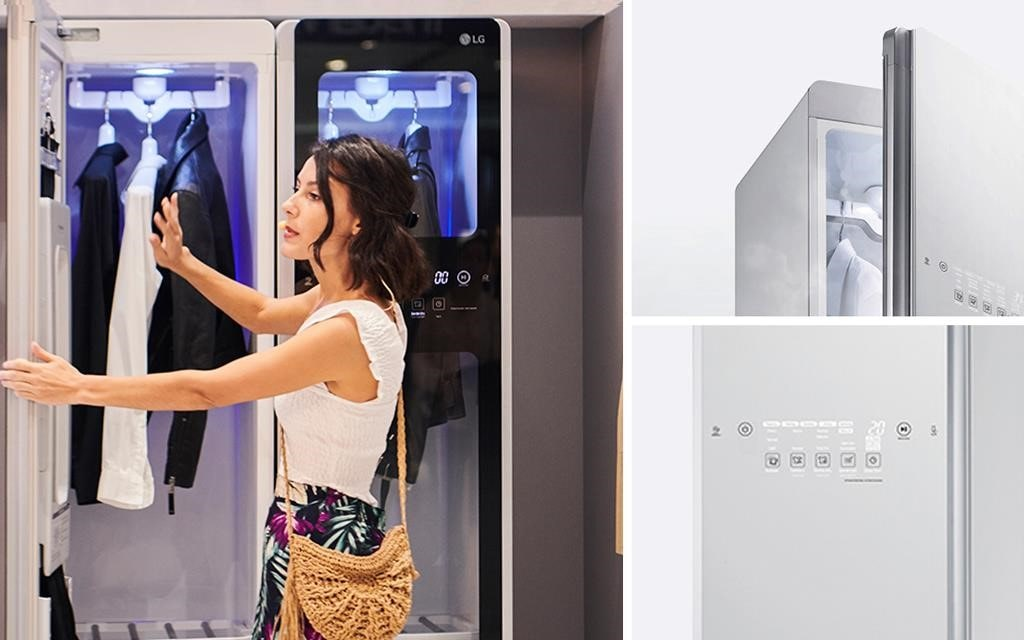 The LG Styler - making your clothes look as good as new, while getting rid of wrinkles and allergens | More at LG MAGAZINE