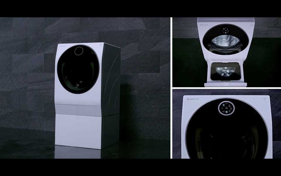 The LG SIGNATURE Washing Machine has stunning design to match it's innovative features | More at LG MAGAZINE