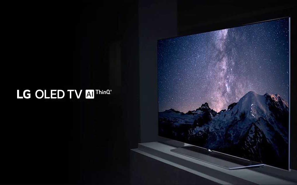 The perfect black feature of LG OLED TV 4K