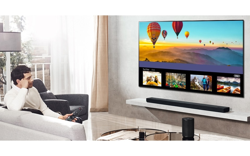 Take a look at all your favourite holiday photos on your LG Smart TV | More at LG MAGAZINE