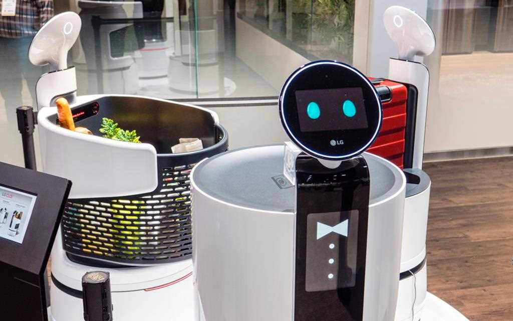 At CES 2018 LG presents innovative technology of Artificial intelligent with different robots