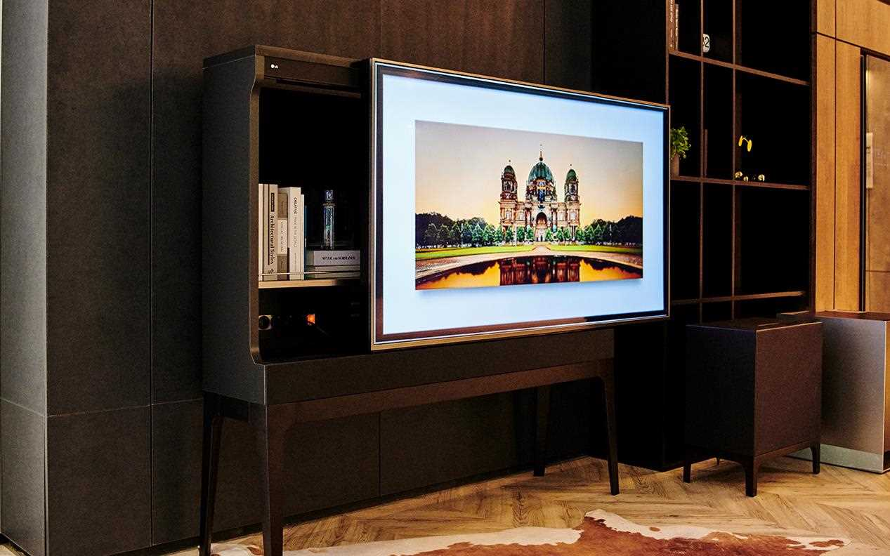 The Future Concept Furniture range at IFA 2019 was a part of LG's aim to redefine the living space | More at LG MAGAZINE