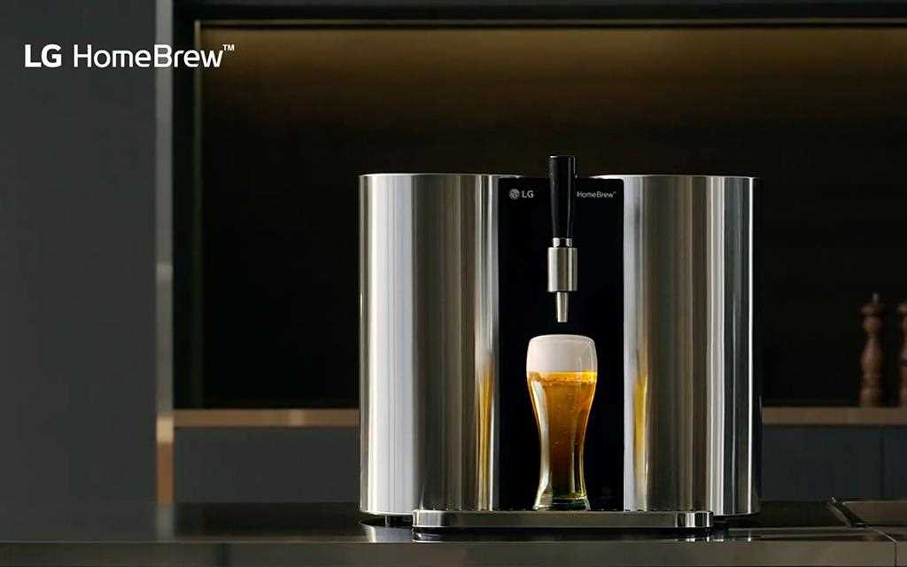 The LG Homebrew in action. The concept product was on show at IFA 2019, showcasing the limitless boundaries of smart products | More at LG MAGAZINE