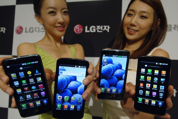 LG Optimus LTE, True HD IPS