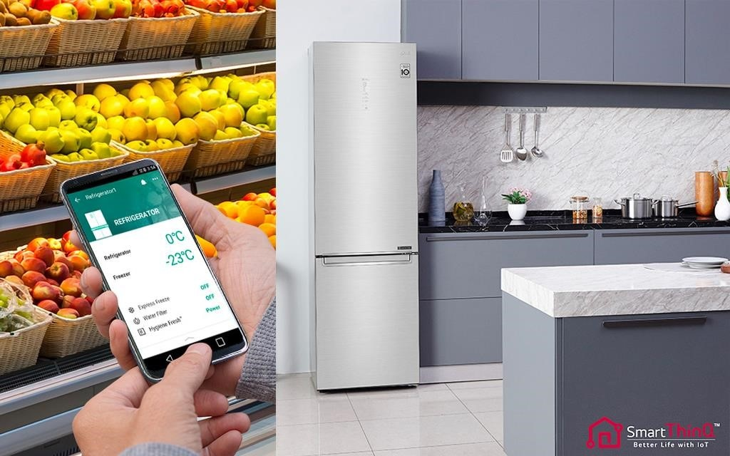 With ThinQ you can control your fridge, anywhere, anytime | More at LG MAGAZINE
